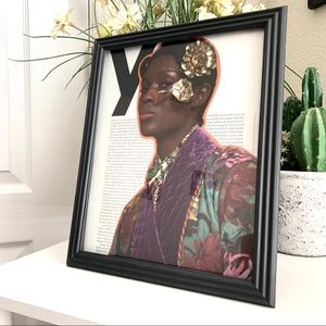 Jodie Turner-Smith Handmade 8x10 Celebrity Collage